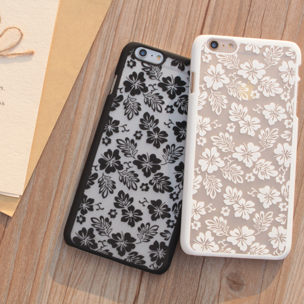 Fashion Colorful Luxury Vintage Flower Pattern Lace coque For Apple Iphone 6 6s Case 4.7 Inch Cell Phone Back Cover(China (Mainland))