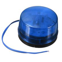 LED 12V Security Alarm Strobe Signal Warning Blue Red Orange Flashing Light