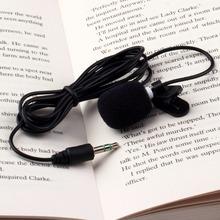 1 PC 30 Hz ~ 15000 Hz 3.5 mm mains Free Clip sur Mini revers Microphone pour PC portable Tablet Skype MSN(China (Mainland))