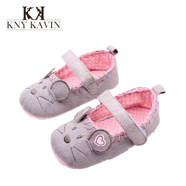 New Designer Baby Shoes Kawaii Mouse First Walkers Infant Soft Sole Summer Girls Shoes Baby Shoes