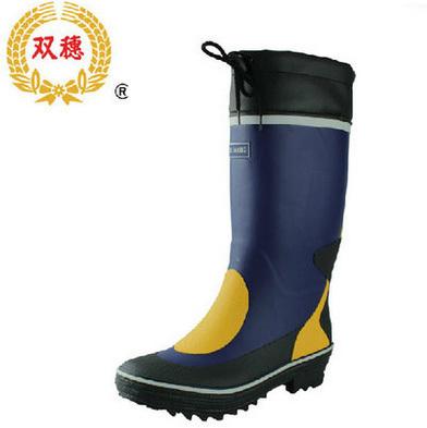 Size 39~45 Men Knee-High Rain Boots Men High-top Waterproof Shoes Water Shoes Men Long Rainboots Rubber Shoes Free Shipping
