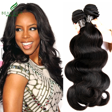Brazilian Virgin Hair Body Wave 3 Bundles7A Grade  Brazilian Body Wave  Tissage Bresilienne Human Hair Weave Queen Hair Products(China (Mainland))