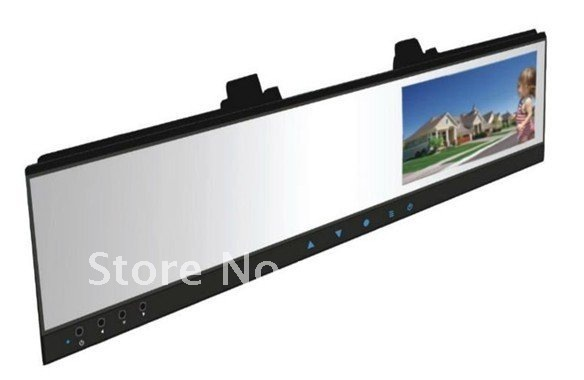 """HD 720P DVR with 4.3""""TFT LCD Monitor mirror and wireless back side camera"""