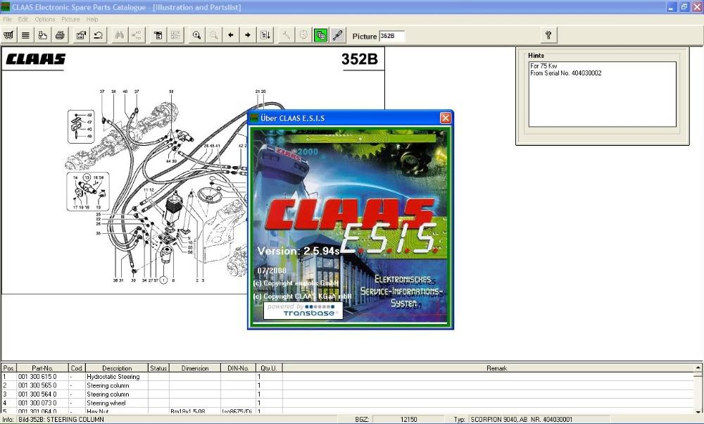 Claas ESIS 2.5<br><br>Aliexpress