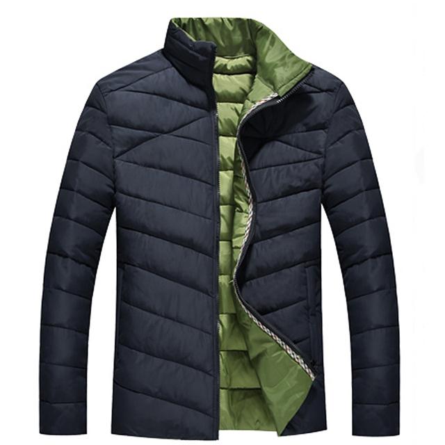 Men Winter Coats Warm Plus Размер XXXL 4XL 5XL 6XL 7XL 8XL Man Jackets Модный Сплошной ...