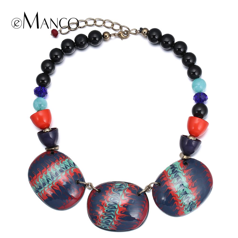 aliexpress buy multicolor enamel bead necklace resin