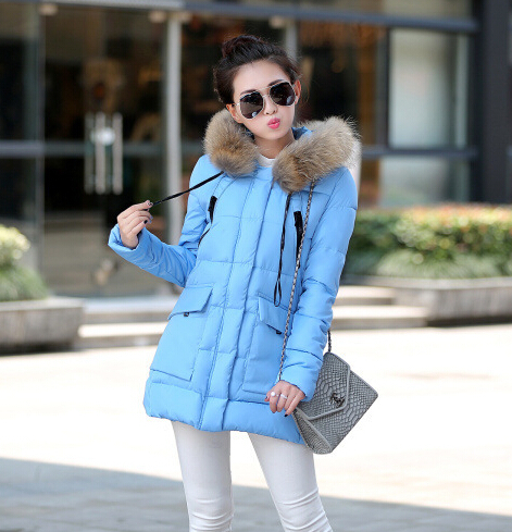 Winter Casual Coat Women Fashion High Quality Loose Large Pockets Fur Coats Collar Hooded Overcoat Parkas Winter Jacket F770Одежда и ак�е��уары<br><br><br>Aliexpress