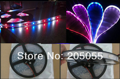 16.4feet 5M 5050 SMD Waterproof LPD8806 IC Flexible RGB LED Strip 48LED/m IP67 DC5V 240LEDs Individually Addressable Dream Color