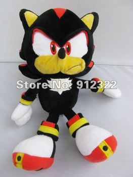"""Free Shipping  High quality Sonic the Hedgehog Shadow 10"""" Plush SONIC X SEGA ANIME Tokyo Pop Culture NEW  Wholesale and Retail"""