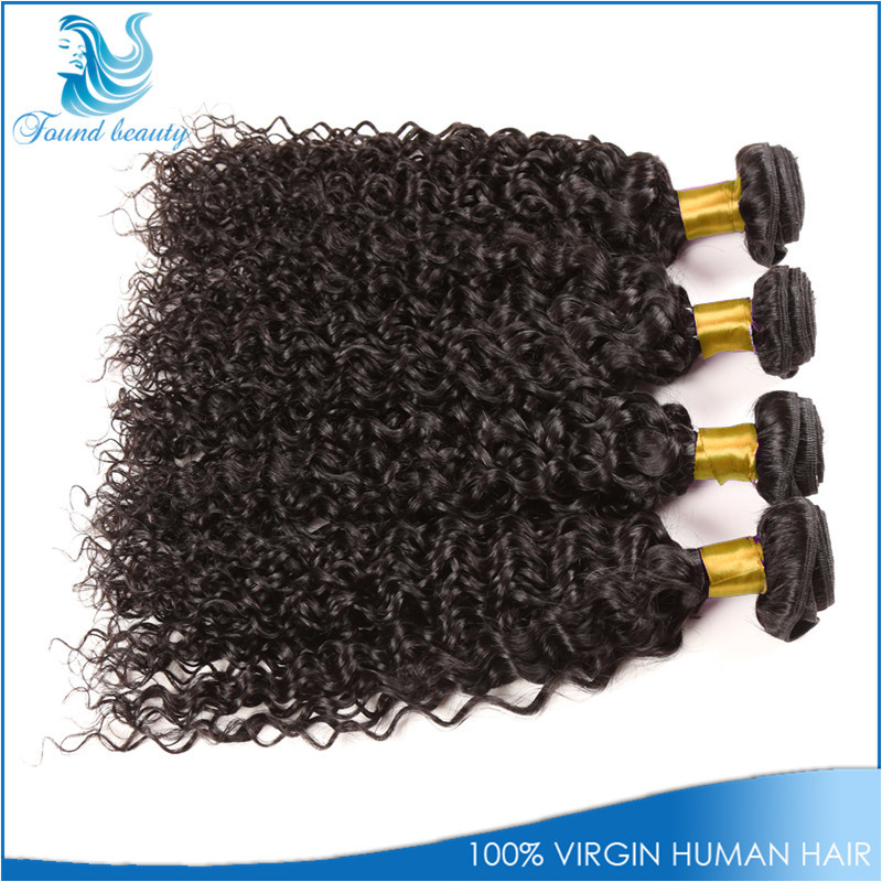 Grade 7A Brazilian Kinky Curly Virgin Hair 4Bundles Free Shipping Ali Express Hair Wet And Wavy Virgin Brazilian Hair weaves(China (Mainland))