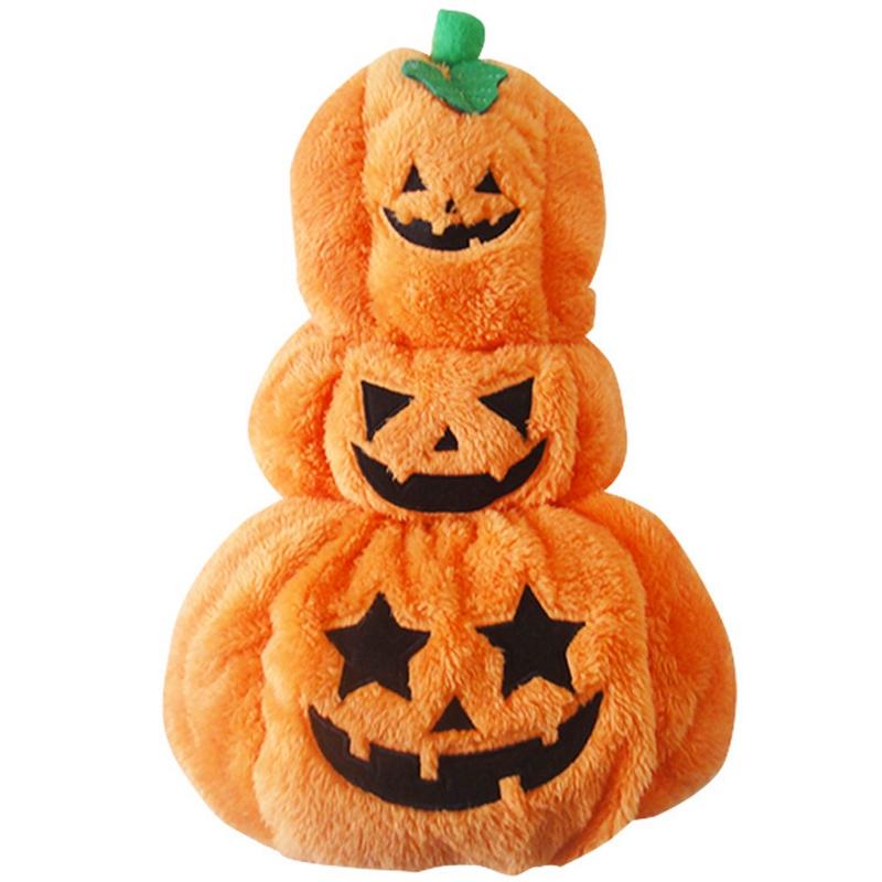 New Pet Dog Halloween Pumpkin Clothes Pet Supplies 2016 New(China (Mainland))