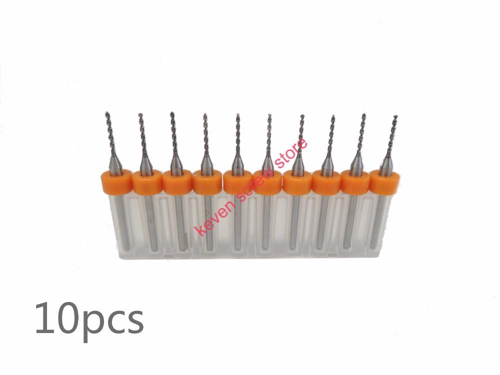 Freeshipping 10pcs/Set 1.6mm High Quality Hard Alloy PCB Print Circuit Board Carbide Micro Drill Bits Tool 1.6mm for SMT CNC(China (Mainland))