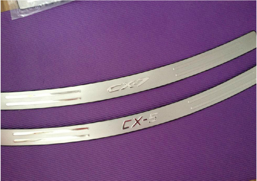 High quality 2008-2013 Mazda CX-7 stainless steel Rear bumper Protector Sill cx72(China (Mainland))