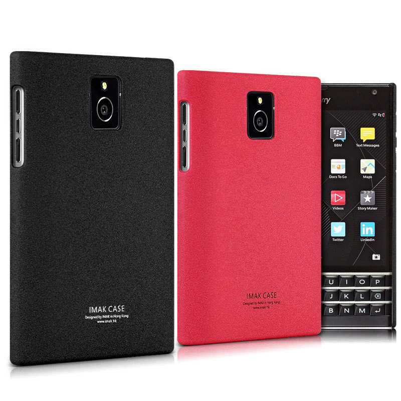 Original IMAK Ultra-thin Frosted Back Cover Case For BlackBerry Passport Windermere Q30 + Free Screen Protector(China (Mainland))