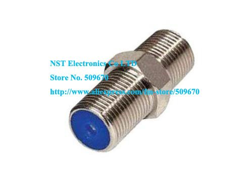 Free Shipping /100pcs/ RG6 Barrel Coax Cable Connector Coupler RG6 F81 3GHz Adapter(China (Mainland))