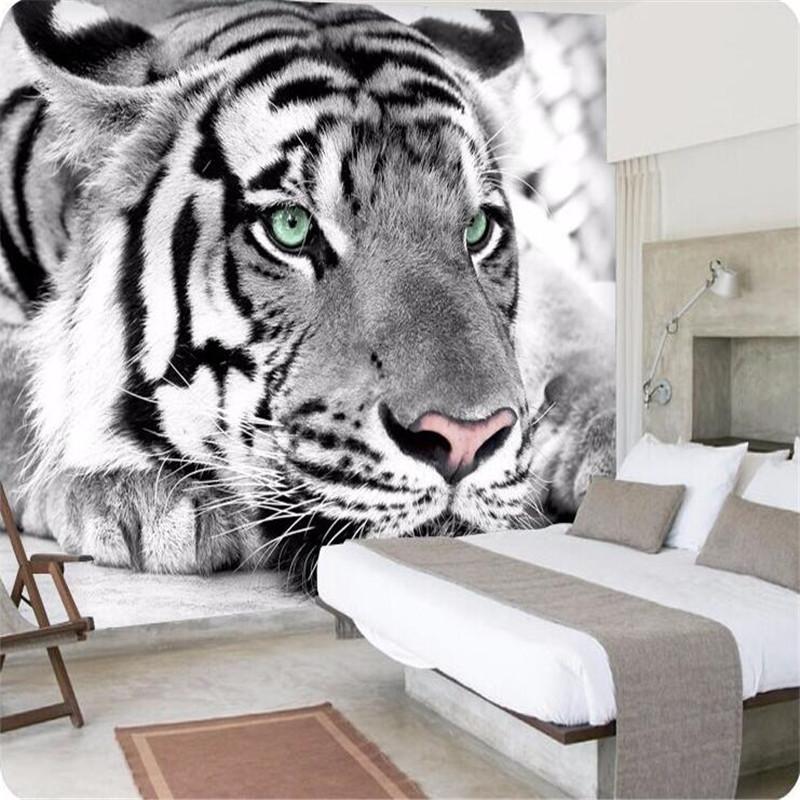 Acquista all 39 ingrosso online tigre bianca carta da parati - Ragazze nude a letto ...