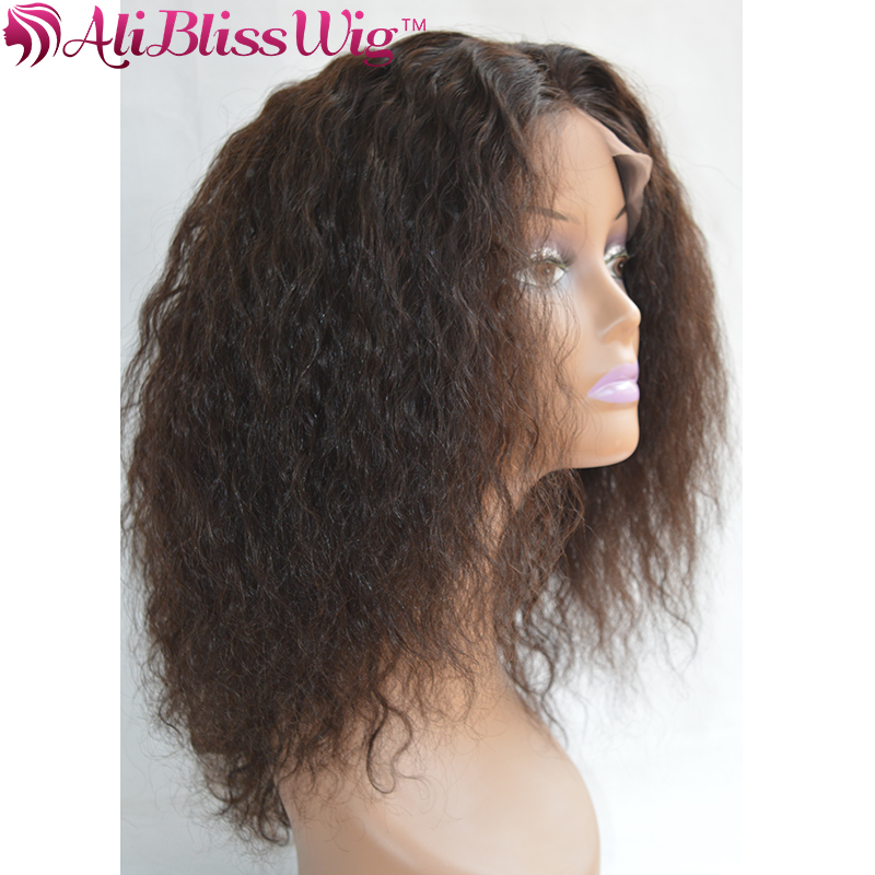 Aliexpress Com Buy 7a Medium Length Curly Afro Wig