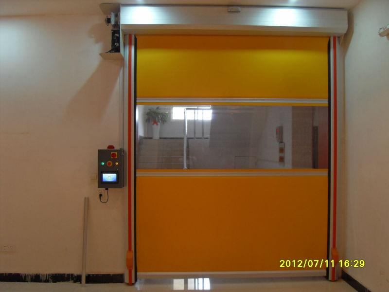 High quality interior rapid rolling door speed