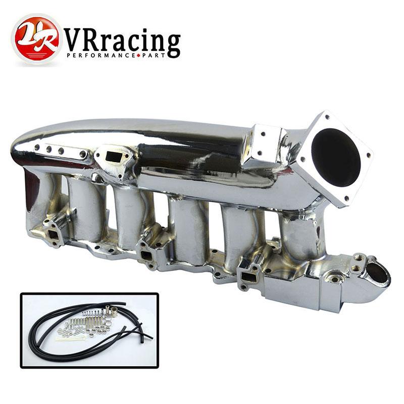 VR RACING-CHROME INTAKE MANIFOLD for Nissan skyline rb25 rb25det SKYLINE High Quality New VR-IM32CR(China (Mainland))