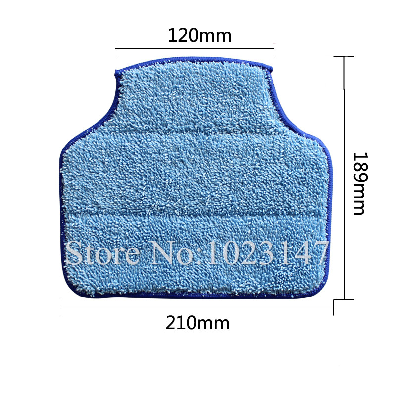 1 set Robot Vacuum Cleaner Parts Microfiber Cleaning Cloth Mop for Neato botvac 70E 75 80 85 D80(China (Mainland))