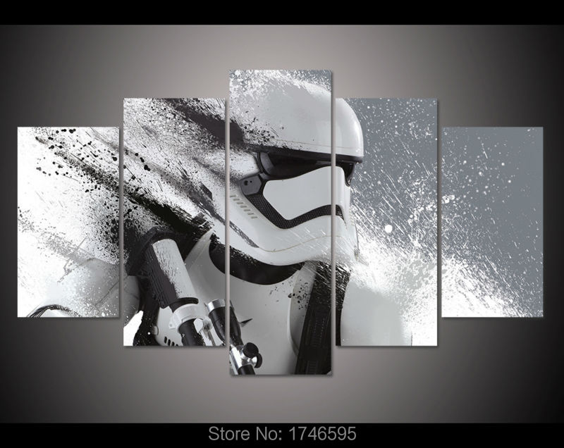 60x32 inches Print Stormtrooper Star Wars Movie film movie poster home decor wall art picture print oil Painting on canvas print(China (Mainland))