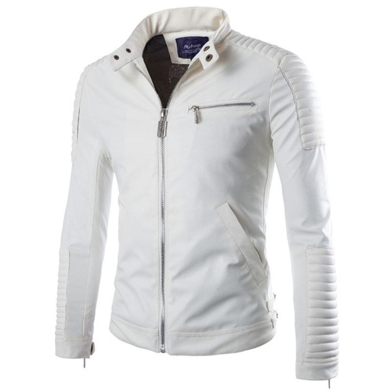 online kaufen gro handel mens white motorcycle jacket aus. Black Bedroom Furniture Sets. Home Design Ideas