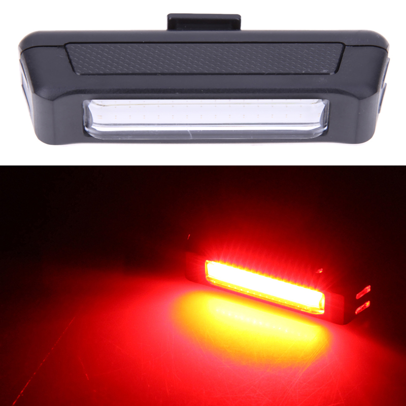 Bicycle Bike Light Cycling Front Rear Light 6 Mode USB Rechargeable Lamp Bike Tail LED light Hold Clamp Warning Lights