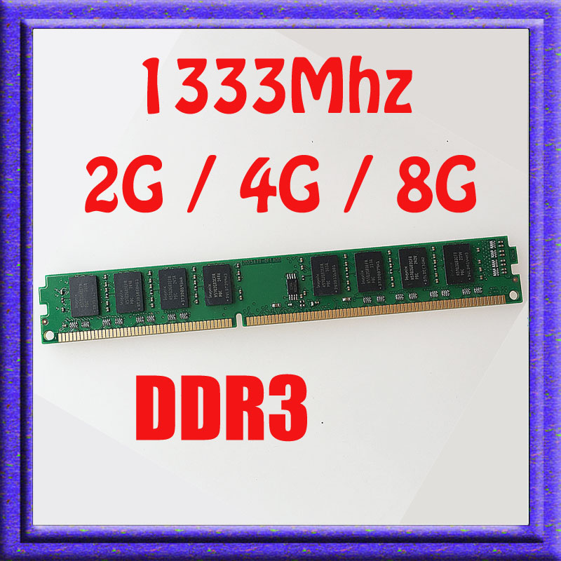 2GB / 4GB / 8GB PC3-10600 DDR3-1333 DDR3 1333MHZ 240PIN Desktop Memory ddr3 1333 240-pin DIMM RAM 2G / 4G / 8G memory Upgrade<br><br>Aliexpress