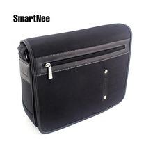 Classic Men Briefcase Business Leather Portfolio Brief Case Attache Messenger Bags Laptop Handbag Men's Travel Shoulder Bag(China (Mainland))