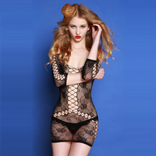 Buy Top china sexy salve girls butterfly net fetish latex erotic body suit clothes underwear teddy lingerie porn summer dr