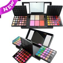Volume 156 color eyeshadow cosmetics decoration powder, eyebrow powder blush, lip gloss makeup mirror combinations(China (Mainland))