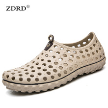 Buy 2017 New Summer Men Garden Clogs sandals cro Shoes cs Comfortable Sandals Men Casual Beach/Water hawaiian Slippers Plus Size 45 for $11.76 in AliExpress store
