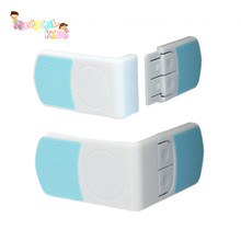 6pcs lot White Safety Plastic Drawer Lock For Child Safety font b Care b font font