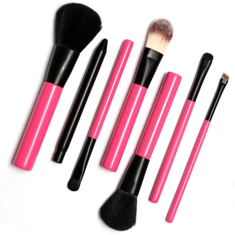 7Pcs MakeUp Brushes Set Powder Foundation Eyeshadow Eyeliner Lip Brush Pro Makeup for Mac Makeup Sosmetic Tool Freeshiping(China (Mainland))