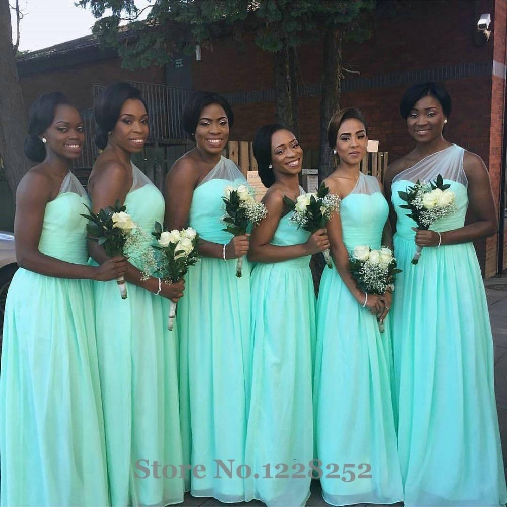 mint green plus size bridesmaid dresses