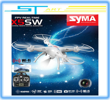 SYMA X5SW Helicopter with HD Camera 6-Axis RC Drone FPV WIFI Quadcopter 2.4G Real Time Fashion Toy Free Shipping