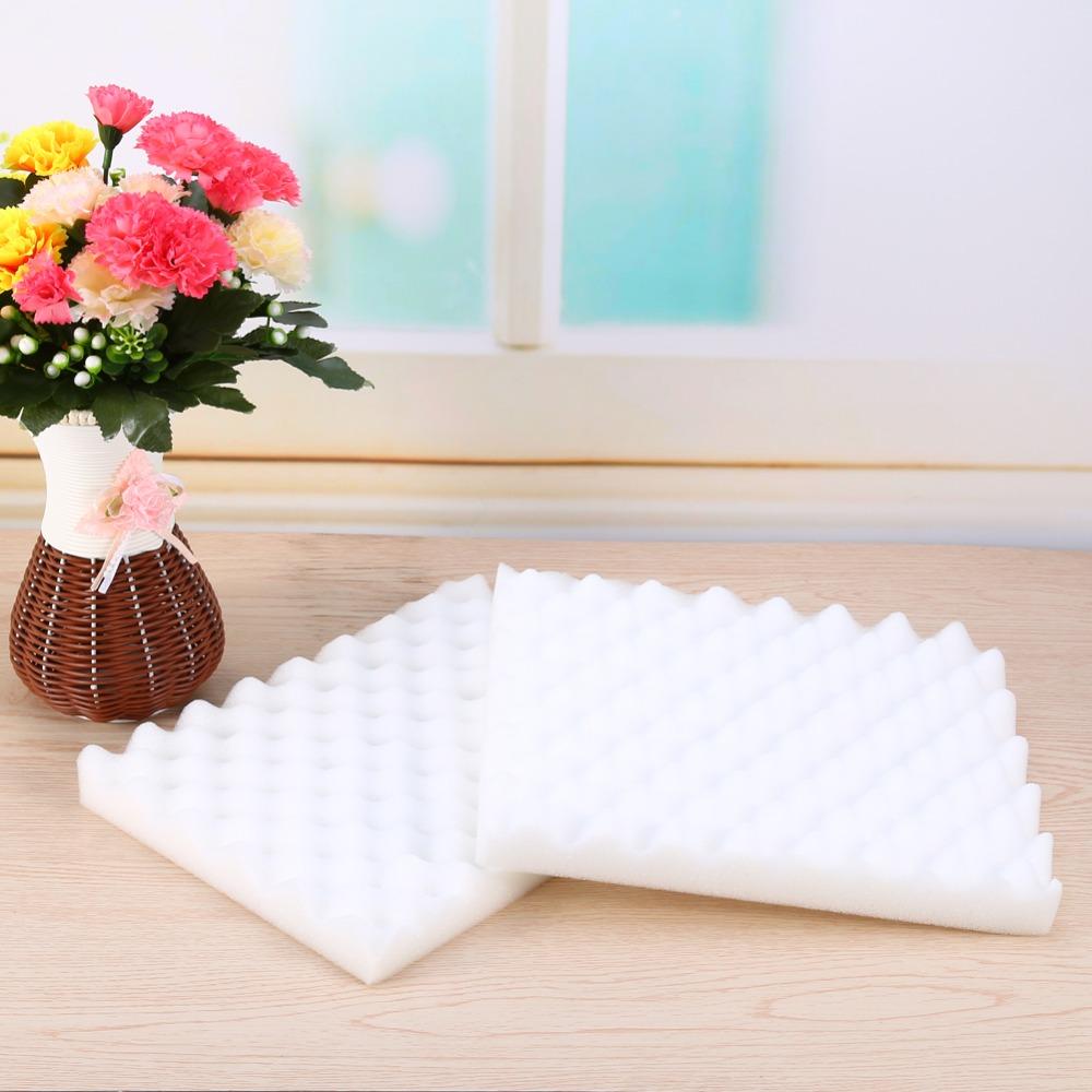 2pcs/set Sponge Fondant Cake Tools Baking Modelling Sugar Flower Dry Styling Wave Songe Pad Floral Foam(Hong Kong)
