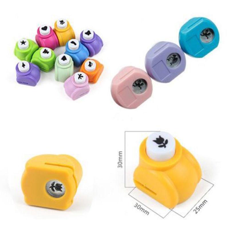 1 PCS Kid Child Mini Printing Paper Hand Shaper Scrapbook Tags Cards Craft DIY Punch Cutter