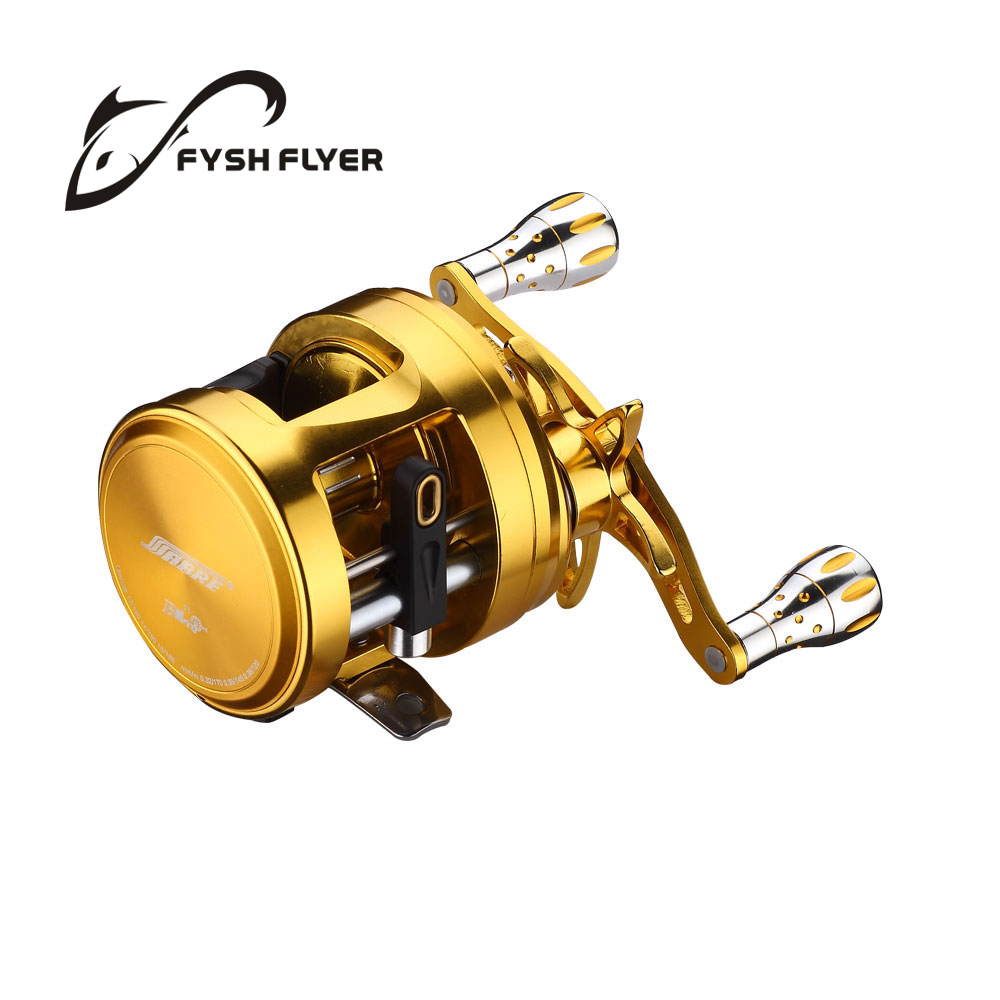 Baitcasting Sea Hawk Premium Fishing Reels; 11+1 BB, Full Metal, Magnetic Brake, High Quality Stainless Steel bearings And Shaft(China (Mainland))