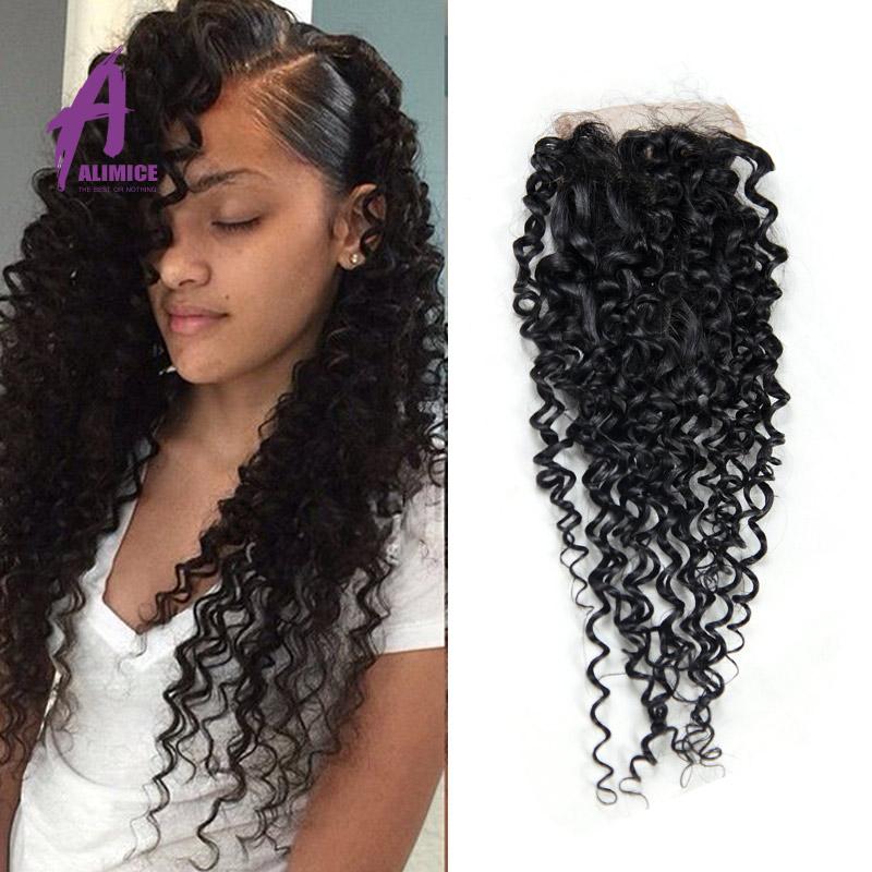Popular Jerry Curl Closure Buy Cheap Jerry Curl Closure