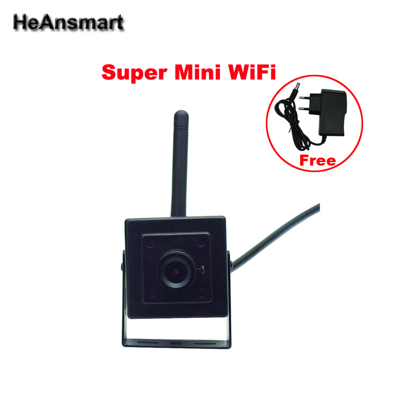 Mini IP Camera 720P WiFi Smart App Wireless CCTV Security Camera Support 64G Micro SD Card Recording and mobile Phone remote(China (Mainland))