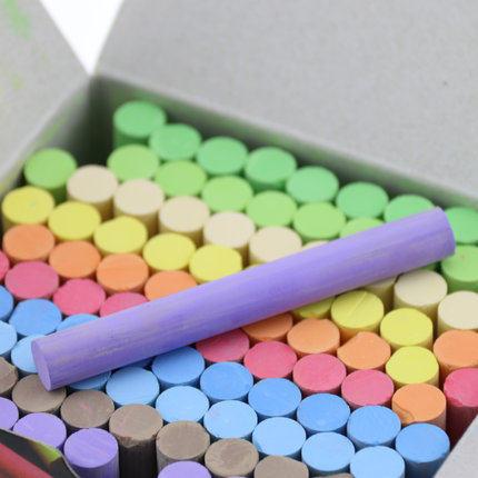 506- Non-toxic chalk color dust / 100 loading / blackboard chalk / ally child chalk dust(China (Mainland))