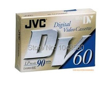 5 pieces Free shipping JVC blank DV Cassette Mini DV Digital Vedio Cassette DV Tape With SP 60MIN LP 90MIN wedding gift