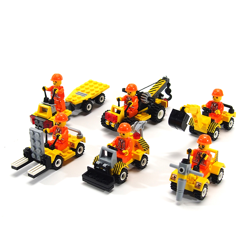 City Police Minifigures Building Blocks Fire Car Military Bricks Engineering vehicles Model Building with Legoe City Kids Toys(China (Mainland))
