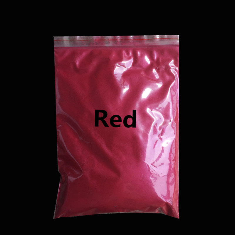 Red pearl powder pigment paint coating Automotive Coatings ceramic art crafts coloring dye 50g per pack(China (Mainland))