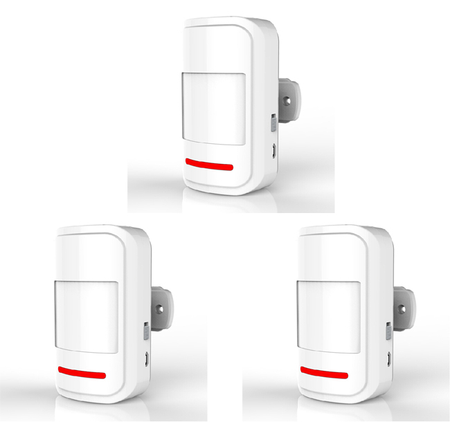 Wireless Motion PIR IR Sensor Detector Intelligent Detecting Passive Infrared 433MHz Alarm System P503 - SZ easysell store