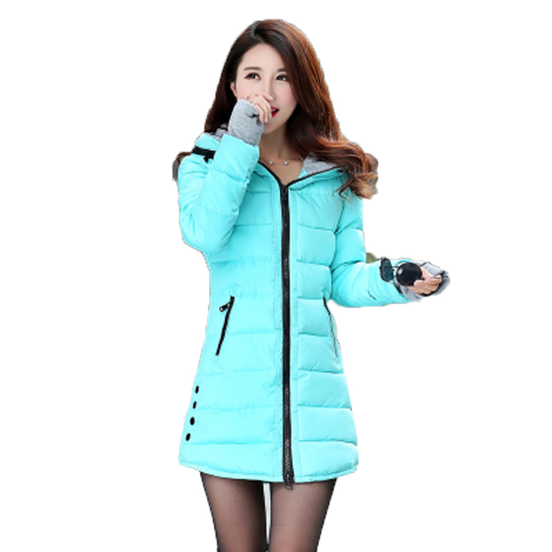 Wadded Jacket Female 2015 Fashion womens winter jacket down cotton jacket slim parkas ladies coat plus size S-3XL  QL1785Одежда и ак�е��уары<br><br><br>Aliexpress
