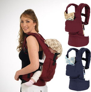 Spring 805 multifunctional baby suspenders backpack bags 100% cotton breathable