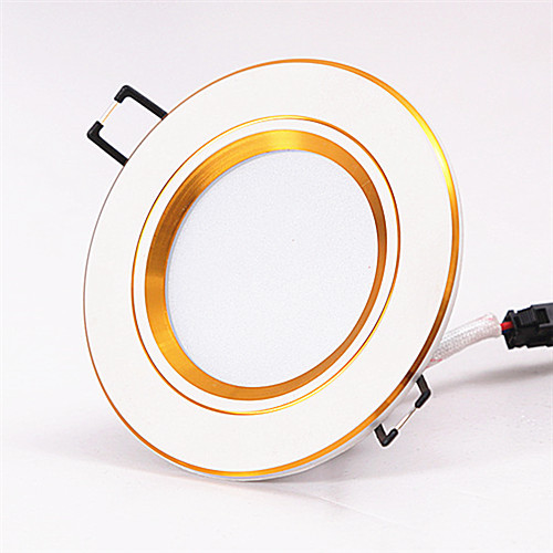 3 inches ceiling hole size 3W LED downlight,recessed mounted,5 kinds face-rings for choosing,the best led lights for home(China (Mainland))