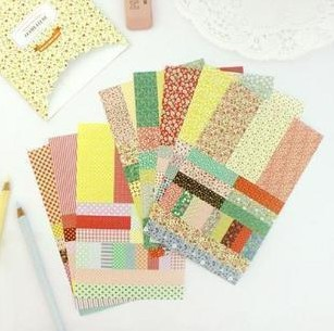 3 bags/ lot ( 24 sheets ) DIY Vintage Lace Flower Paper Sticker for Scrapbooking Photo Album Decoration Free shipping 510<br><br>Aliexpress
